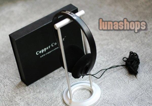 Copper Colour CC Single-1 aluminum alloy vertical style earphone rack