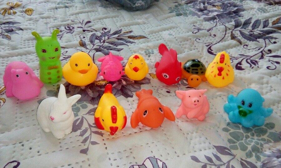 игрушки очень хорошенькие! В воде становятся мягкими, очень милые зверюшки