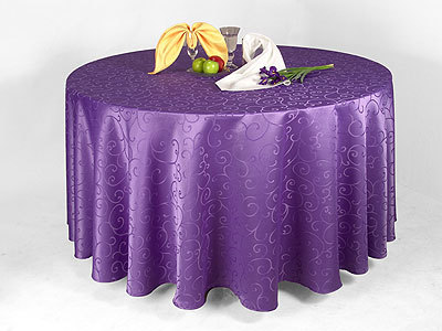 Free Shipping Purple Damask Table Cloth/polyeser Tablecloth/spandex Table  Cloth And Chair Cover