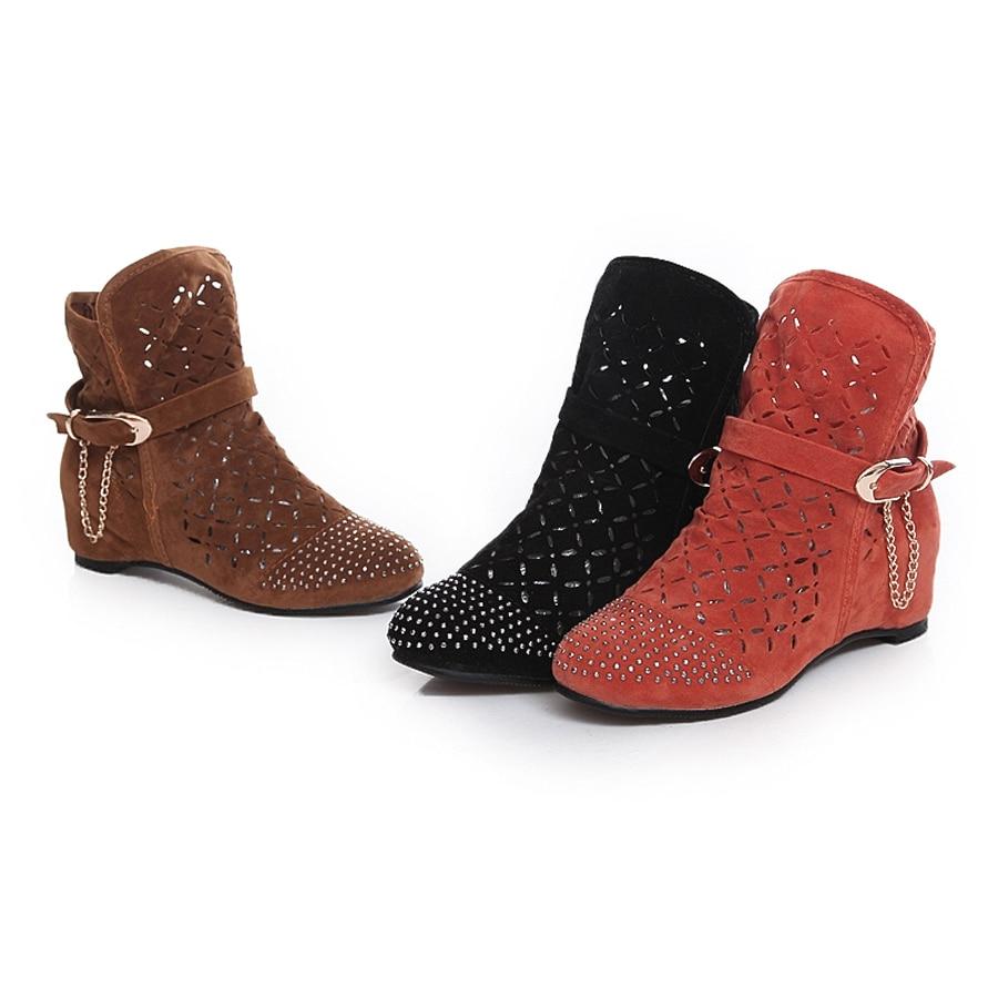 new style shoes fashion nubuck leather fretwork