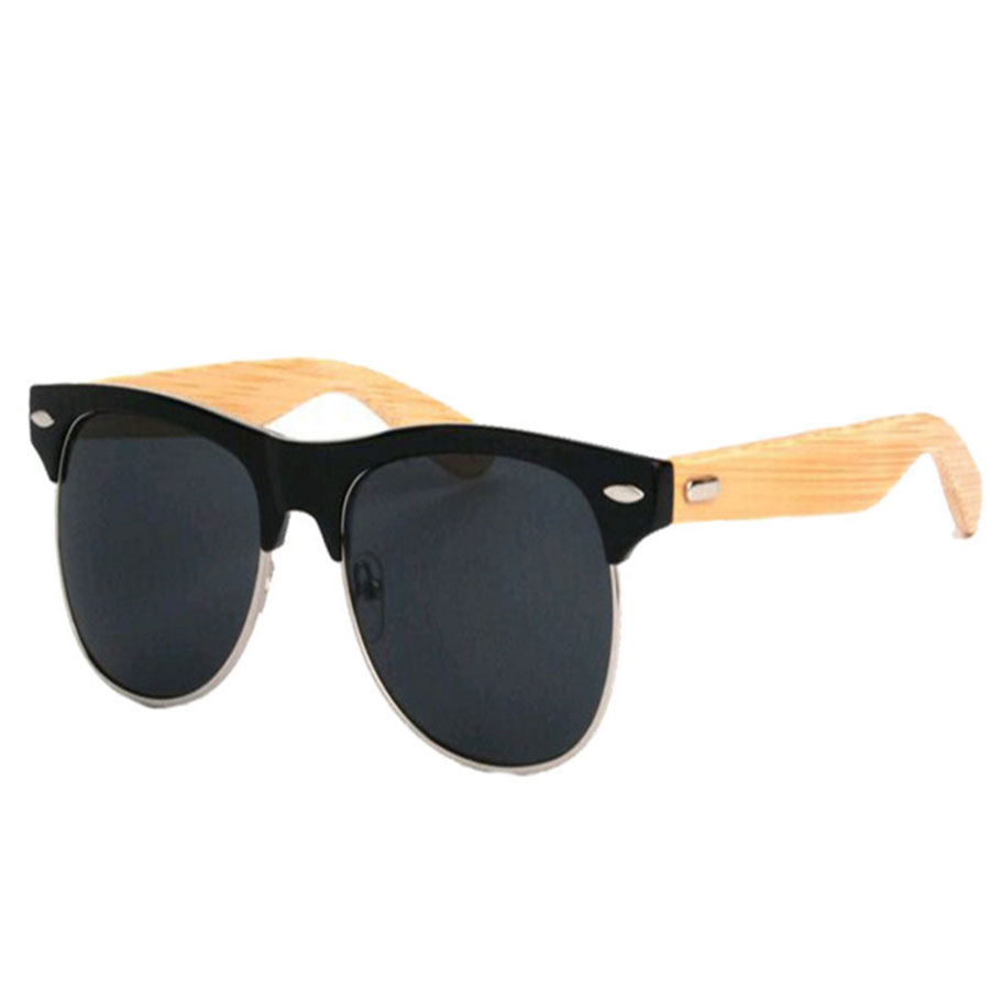 high quality Bamboo Women Sunglasses Oval sunglasses ...