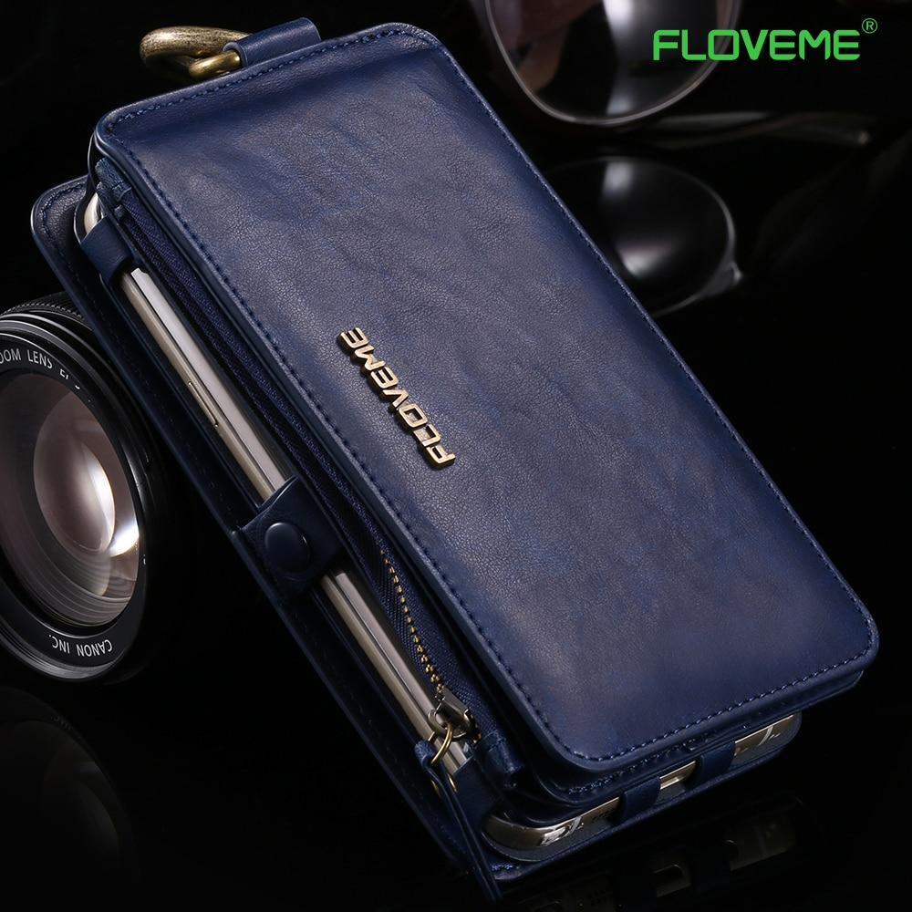 bilder für FLOVEME Für Samsung S7 Fall Luxus-leder-schutzhülle Rüstung Wallet Telefon fall für Samsung S6 rand Plus Note 3 4 5 Fall abdeckung