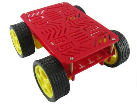 Dagu magic car 4wd robot chassis with 4 TT motor 4wd robot platform
