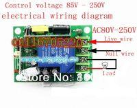 бесплатная доставка с HK сообщение ac85v ~ 250 в Сила ac110v 1 канал рф беспроводной пульт дистанционного беспроводной электрический переключатель запертое 30А приемник и передатчик