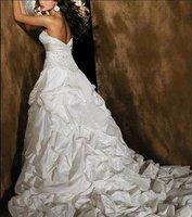 бесплатная доставка кружева свадебные платья с кнопки любой размер / цвет