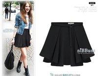 Старинные и классический высокая Tale юбка в СДК бежевый и черный цвет матч с все детали мода юбка