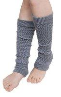 5 pairsx простые трикотажные гетры чулочно-носочных пальцев менее длинные перчатки неоновые цвета