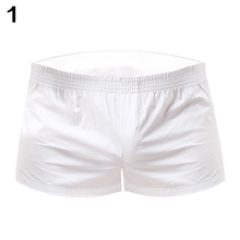 Men's Summer Sexy Home Breathable Low Waist Cotton Comfortable Shorts