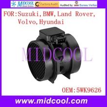 Новый Массового Расхода Воздуха Датчик использование OE No. 5WK9626, 5WK9608, 5WK96050-K, 5WK96050Z, 1432356 для Suzuki BMW Land Rover, Volvo, Hyundai,