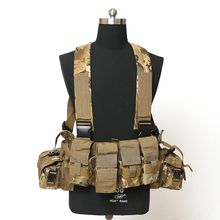 CP Chest Harness with mangazine Pouch Multicam Chest rig Gunner Kit