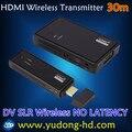 CB8801 технологии WHDI нет задержки WHDI Придерживайтесь Беспроводной HDMI Передатчик и Приемник 30 м 1080 P 3D