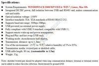 оптический изолированный Интерфейс USB 2.0 в интерфейс RS485 конвертер адаптер, на ft232rl фирмы ftdi чип, 600 вт защита от перенапряжения, вздрагивание с Win7 и Linux