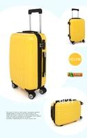 100% высокое качество ABS + ПК мод дизайн baggage чехол, Cat bag cement для путешествия чехол размер 20 24 28