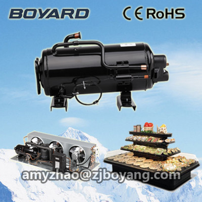 1HP 60Hz horizontal cooling compressor for commercial refrigeration parts tp760 765 hz d7 0 1221a