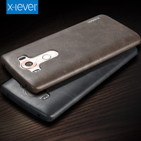 X Level New Vintage PU Leather Phone Case For LG V10 Ultra Thin Protective Back Cover