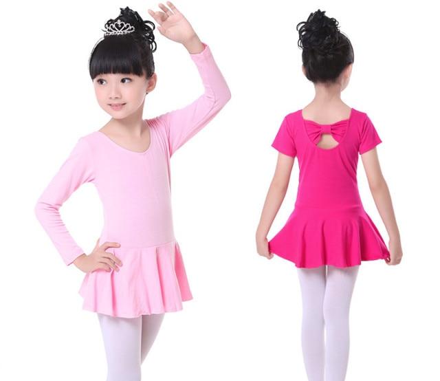 8207476ca Vestido de Ballet para Niñas Ropa baile Tutus vestidos niñas leotardo ropa  niños gimnasia