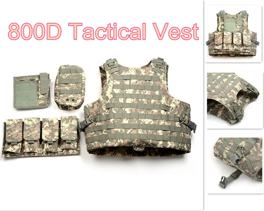 ФОТО CS Multicam Paintball Airsoft Armour Tactical Military Combat Assault Vest Outdoor Training Hunting Waistcoat Safety Clothing