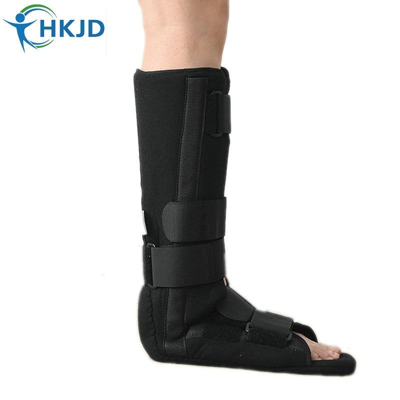 Tibia Fibula Tibiofibular Ankle foot Brace walking walker boot Achille Tendon shoe Lower Limb Orthosis Splint Orthopedic HK-C010