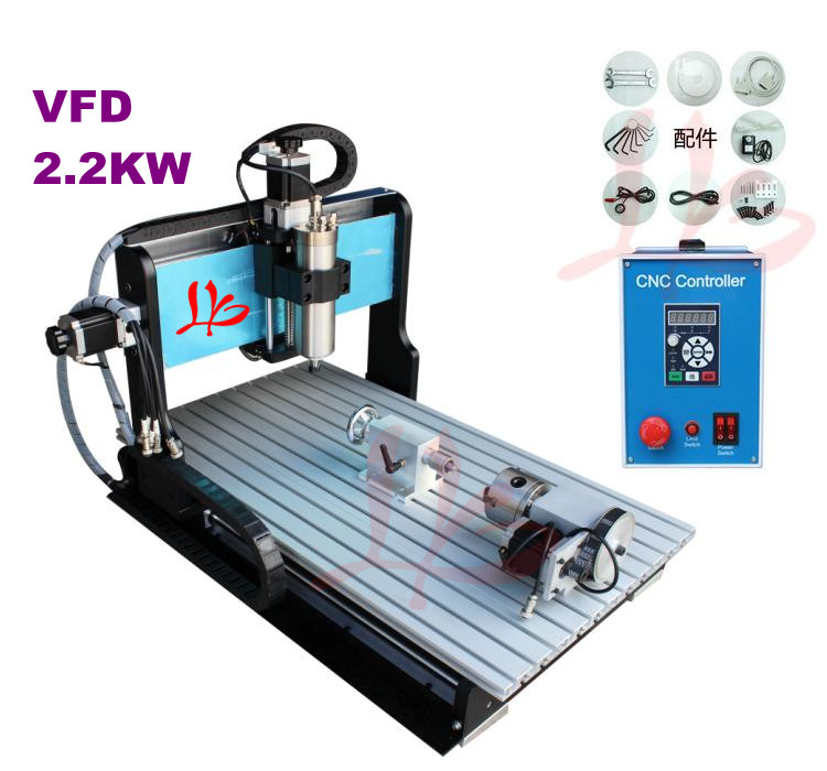 Russia no tax CNC 6040Z-S engraving machine 2.2KW spindle, Limit Switch кофемашина delonghi magnifica ecam22 110b черный