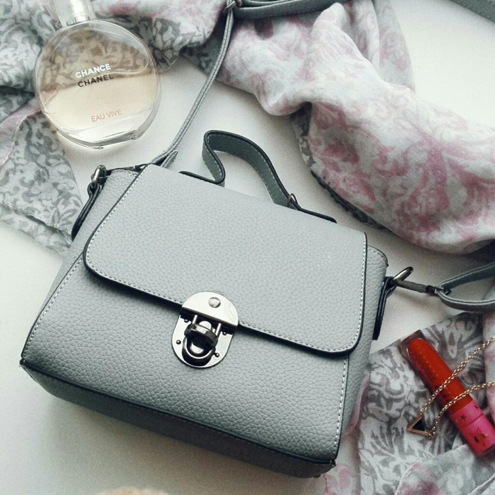 Маленькая серая сумочка с Алиэкспресс