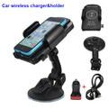 Автомобильный Телефон Ци Беспроводное Зарядное Устройство Док Стенд Держатель для samsung galaxy s7/s6 edge/плюс/note 5/7/note7/lg v10/g4/g3/Lumia 950