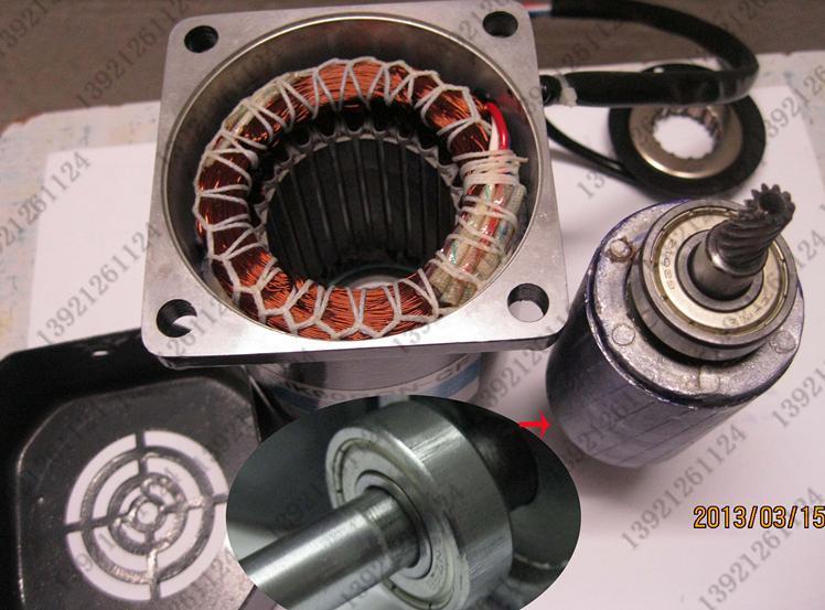 120 Вт AC Micro двигателя редуктор, Скорость регулирующий двигатель 1 ph 50 Гц AC 220 В, 3 об./мин. до 5 об./мин., с Скорость контроллер