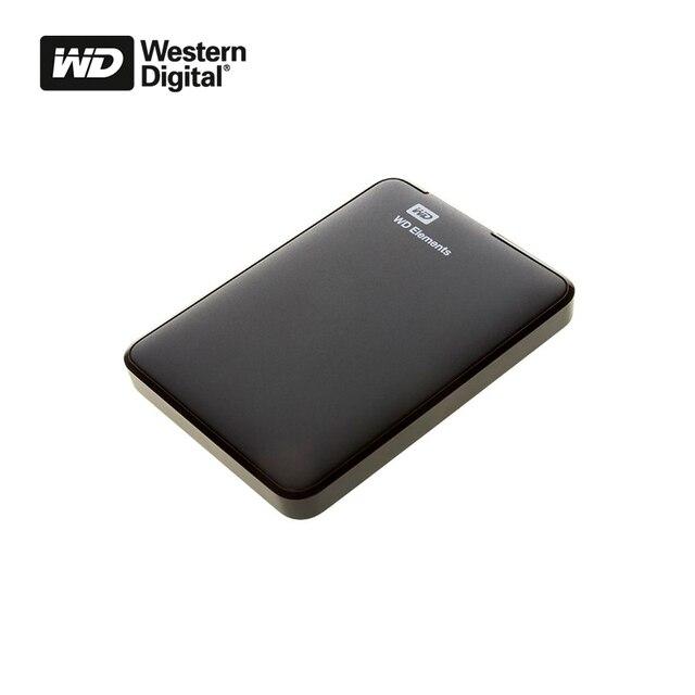 external hard disk HDD WD ELEMENTS PORTABLE 1TB BLACK