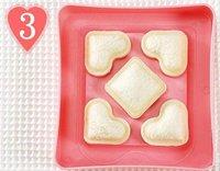 федекс поделки бутерброд хлеб производство форм форме сердца формы торт с Crash бесплатная доставка