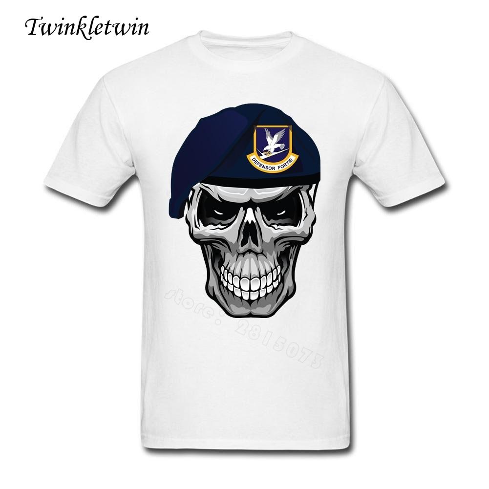 Design your own t shirt mens - Design Your Own T Shirt Men S T Shirt Skull Soldier Slim Straight Tshirt Music Over