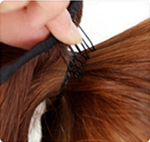 topreety В5 синтетических волос термостойкие волокна 22-55 см прямо лента хвост наращивание волос 60 цветов доступны