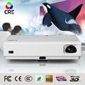 Top rank dlp-ligação projetor 3d 3800 LUMENS Osram lâmpada 1080 P Vídeo Daylight Rear Cinema 3D Projetor laser