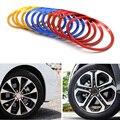 4pcs/set Car Styling Aluminum Alloy Wheel Hub Cover Decorative Circle Trim For KIA Sportage Creat K5 Sorento  Car-styling
