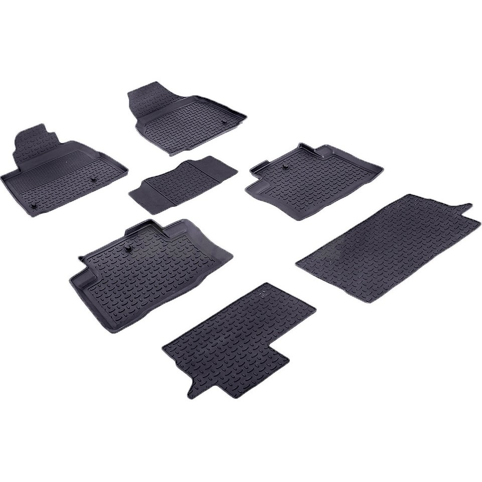 Rubber floor mats for Honda Pilot II 2008 2009 2010 2012 2013 2014 2015 Seintex 85084 fender eliminator license plate bracket kit set for yamaha yzf r1 2009 2010 2011 2012 2013 2014 moto accessories