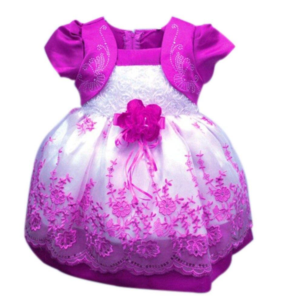 Φ_ΦGasa + tulle niñas coreano vestido floral Encaje vestido colores ...