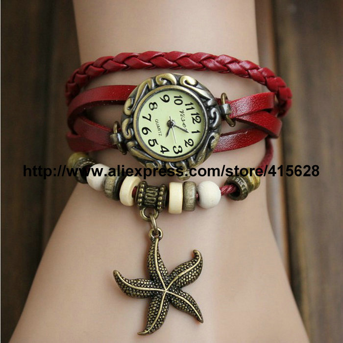 2017 New Fashion Women Bracelet Watch Vintage Girls Cute Choose ...