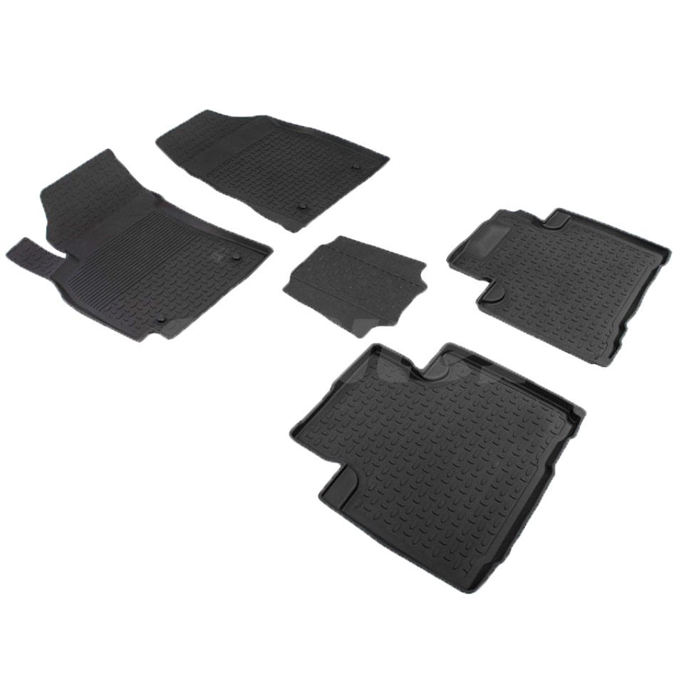 For Geely Emgrand X7 2013-2019 rubber floor mats into saloon 5 pcs/set Seintex 85845 fast shipping 2pcs set led marker angel eyes kit for bmw e90 saloon e91 touring no canbus error