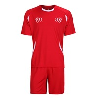 New Arrival Football Jerseys Men Soocer Training Suit Set Outdoor Sports Clothing Paintless Sport Kits Jersey