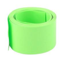 UXCELL Название Продукта 18.5 Мм Диаметр 2 М Длина Пвх Термоусадочные Трубки Аккумулятор Обертывание «Зеленый тепла | shrink | трубки