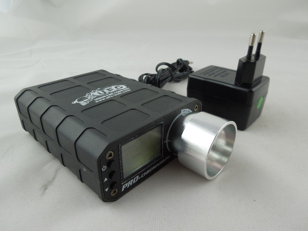 Tactical Hunting Speed Tester táctico Rechargeble Airsoft BB cronógrafo Speed Te