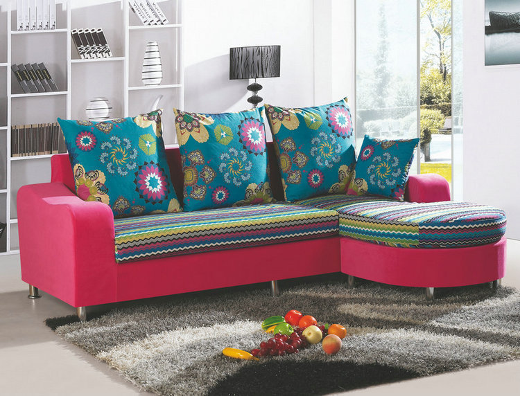 Colorful Small Apartment Sofa Combination Sets 2 In Living Room Sofas From Furniture On Aliexpress Alibaba Group
