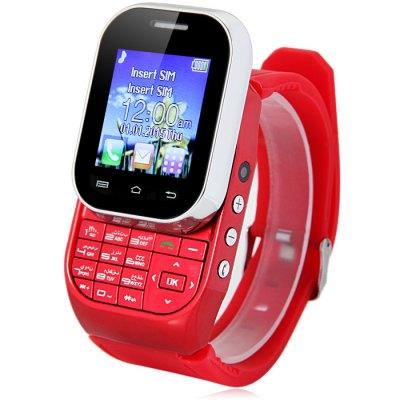 2016 Newly Kenxinda W1 Dual SIM Phone font b Smartwatch b font 1 44 Fashion Watch