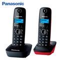 Panasonic KX-TG1612RU3 DECT телефон, меню на русском языке делает работу с аппаратом максимально простой, дисплей оснащен голубой подсветкой, базовый блок имеет кнопку поиска трубки, в комплекте две трубки