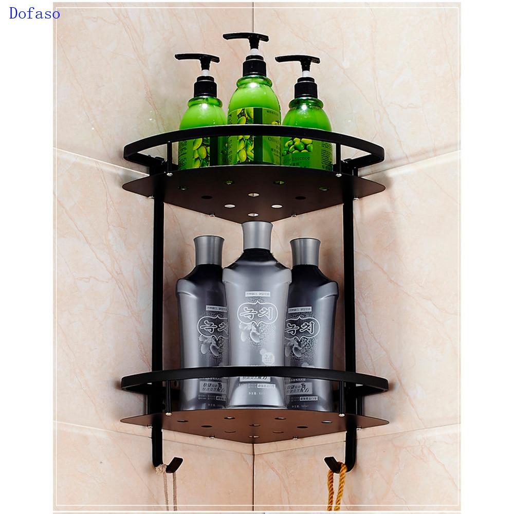 Anho Sucker Lagerung Rack Für Shampoo Dusche Wc Wand Halter Ablauf Bad Saugnapf Korb Regal Ecke Küche Bad Werkzeug Heimwerker