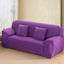 """UXCELL Piccocasa Home Sofa Couch Loveseat Stretch Cover Slipcover Purple 57""""-73"""""""