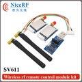 SV611-2 ШТ. 915 МГц TTL Интерфейс Беспроводной Радиотрансивер Модуль + 2 ШТ. SW915-WT100 Локоть Стержневая Антенна + 1 ШТ. TTL Доска USB Мост