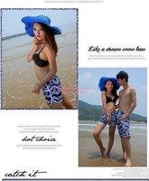 новое постулат синий свободного покроя брюки печать спортивная одежда хлопок женщины / мужчины домашняя одежда пляж серфинг шорты бесплатная доставка 1033