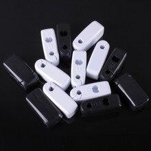 Лидер продаж! Elice 500 шт/уп Противоугонный Магнитный блокировщик замка для дисплея замок, стоплок 6 мм цвет белый