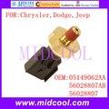 Novo Sensor de Pressão de Óleo Do Motor Auto Switch uso OE No. ÓLEO 05149062AA, 56028807AB 56028807 para a Chrysler Jeep Rodeio