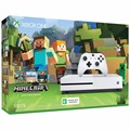 Video Game Console Microsoft Xbox One S 500GB + Minecraft Favorites