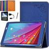 New Leather Flip Case Cover For Huawei Mediapad T1 10 T1-A21W T1-A23L Honor Note 9.6 Tablet Magnet Stand Cover +screen protector